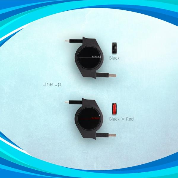 Type-Cケーブル 巻き取り式 充電ケーブル 120cm スマホ タブレット 超タフ ストロング USB タイプC typec 巻取 Type-A to Type-C|owltech|07