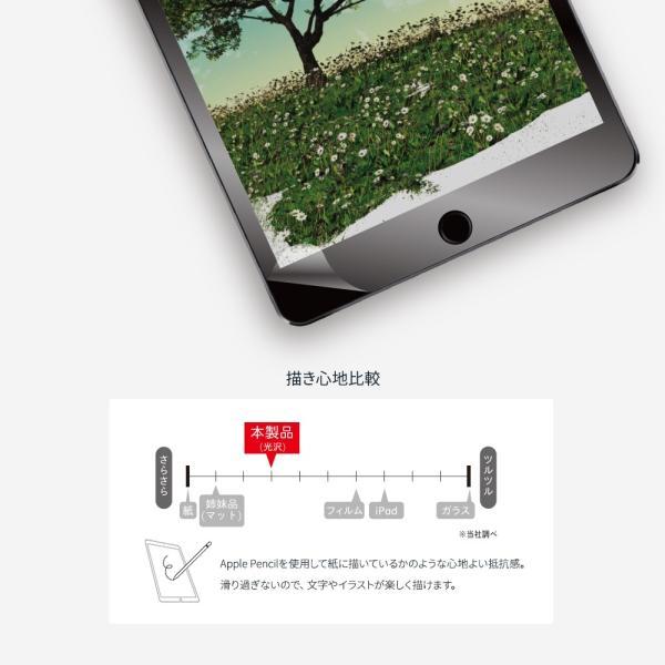 画面保護フィルム iPad mini 5 2019年モデル対応 紙のような描き心地 光沢タイプ 増税前スペシャルセール owltech 03