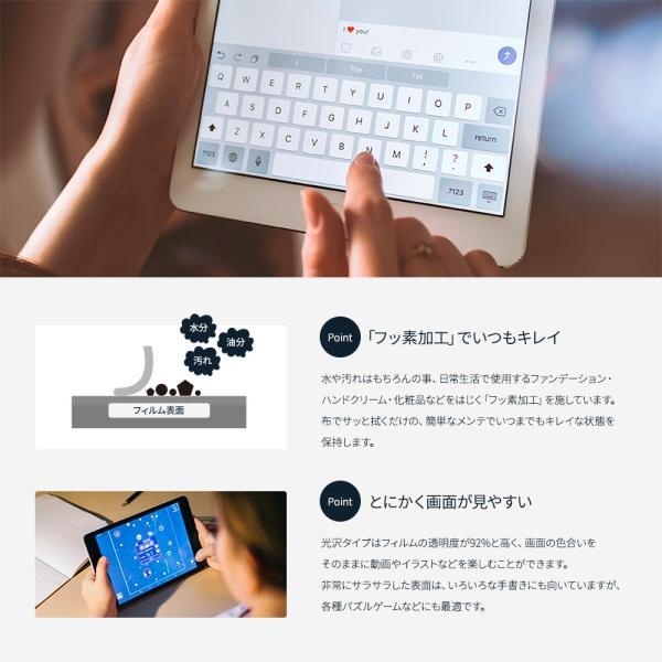 画面保護フィルム iPad mini 5 2019年モデル対応 紙のような描き心地 光沢タイプ 増税前スペシャルセール owltech 04