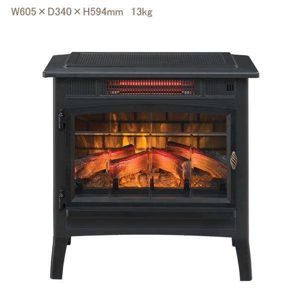 特別割引 定価35%OFF!!3Dパワーヒー薪ストーブ ブラック 送料無料/LLOYD GRANDE/ロイドグランデ/暖炉 温風ヒーター 暖炉型ヒーター リビング 暖房器具|oxford-c