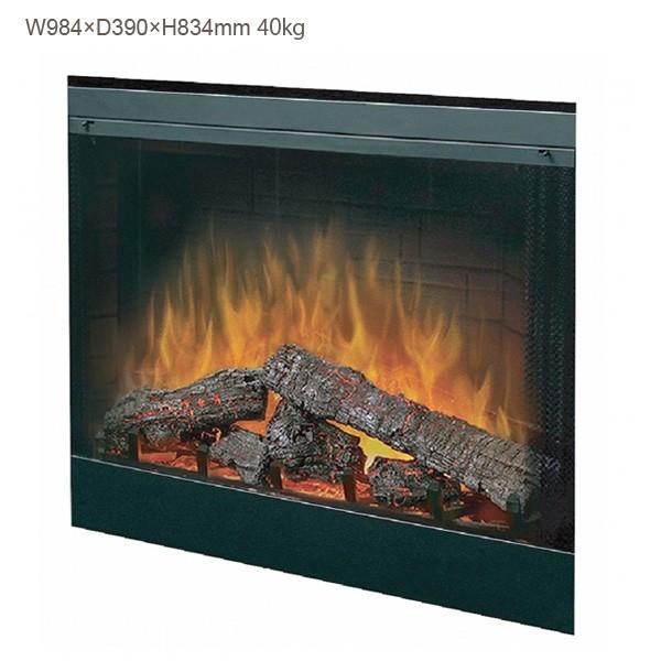 39インチ ビルトイン電気式暖炉本体 BF-39DXP 送料無料/ディンプレックスカナダ/イタヤランバー/暖炉 温風 ゆらぎ リビング 暖房器具|oxford-c