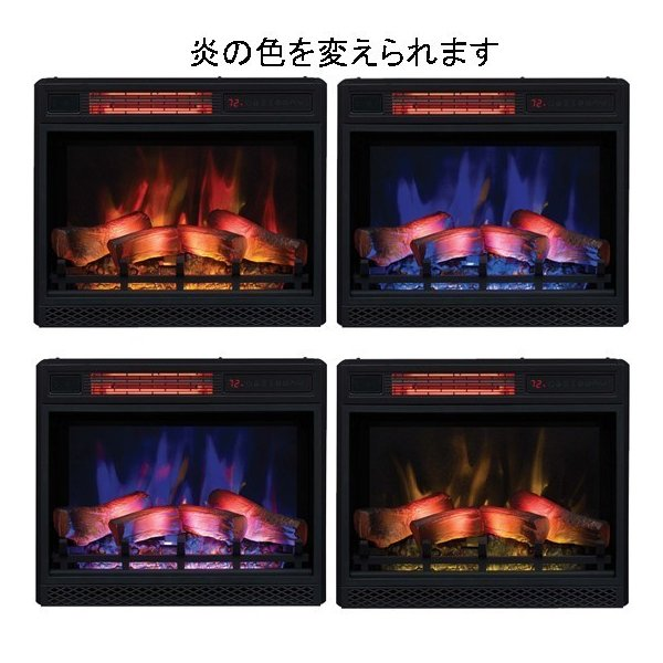 電気式暖炉ユージーン(3Dパワーヒート) /送料無料/LLOYD GRANDE/ロイドグランデ/暖炉 温風ヒーター 暖炉型ヒーター 暖房器具 oxford-c 03