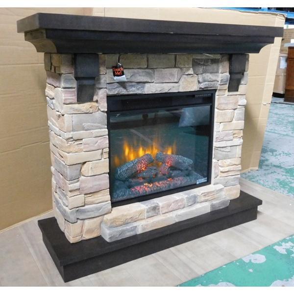 電気式暖炉ユージーン(3Dパワーヒート) /送料無料/LLOYD GRANDE/ロイドグランデ/暖炉 温風ヒーター 暖炉型ヒーター 暖房器具 oxford-c 04