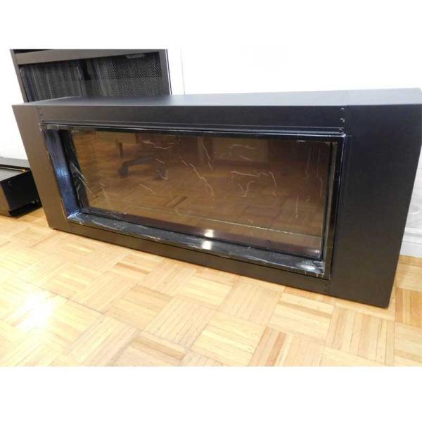 40インチ ビルトイン電気式暖炉 LANDSCAPE4015 疑似薪 送料無料/REALFIRE/イタヤランバー/暖炉 温風 暖炉型ヒーター リビング 暖房器具|oxford-c|03