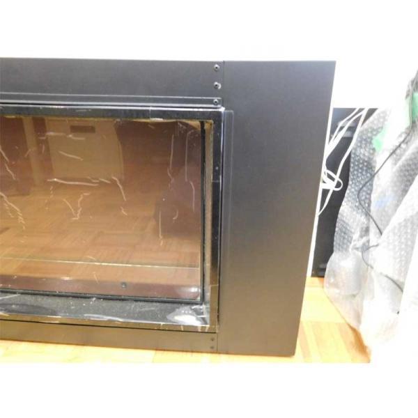 40インチ ビルトイン電気式暖炉 LANDSCAPE4015 疑似薪 送料無料/REALFIRE/イタヤランバー/暖炉 温風 暖炉型ヒーター リビング 暖房器具|oxford-c|05