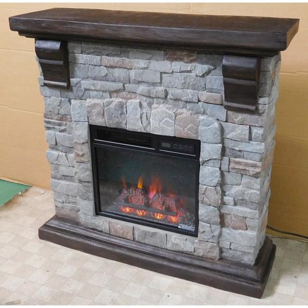 18インチ電気暖炉セット パイオニア 送料無料/LLOYD GRANDE/ロイドグランデ/暖炉 温風ヒーター 暖炉型ヒーター リビング 暖房器具|oxford-c|03