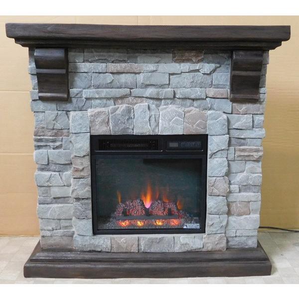 18インチ電気暖炉セット パイオニア 送料無料/LLOYD GRANDE/ロイドグランデ/暖炉 温風ヒーター 暖炉型ヒーター リビング 暖房器具|oxford-c|04