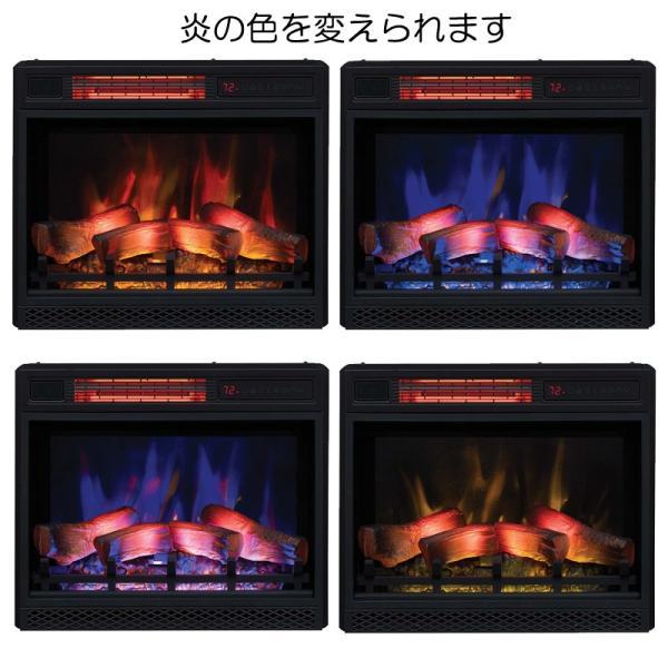 電気式暖炉 セネカ(3Dパワーヒートタイプ) /送料無料/LLOYD GRANDE/ロイドグランデ/暖炉 温風ヒーター 暖炉型ヒーター 暖房器具|oxford-c|02