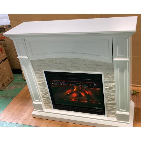 電気式暖炉 セネカ(3Dパワーヒートタイプ) /送料無料/LLOYD GRANDE/ロイドグランデ/暖炉 温風ヒーター 暖炉型ヒーター 暖房器具|oxford-c|04