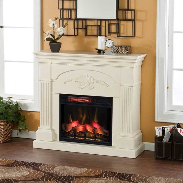 電気式暖炉 シシリアンハーヴェスト アイボリー(3Dパワーヒートタイプ)/送料無料/LLOYD GRANDE/ロイドグランデ/暖炉 暖炉型ヒーター 暖房器具|oxford-c|02