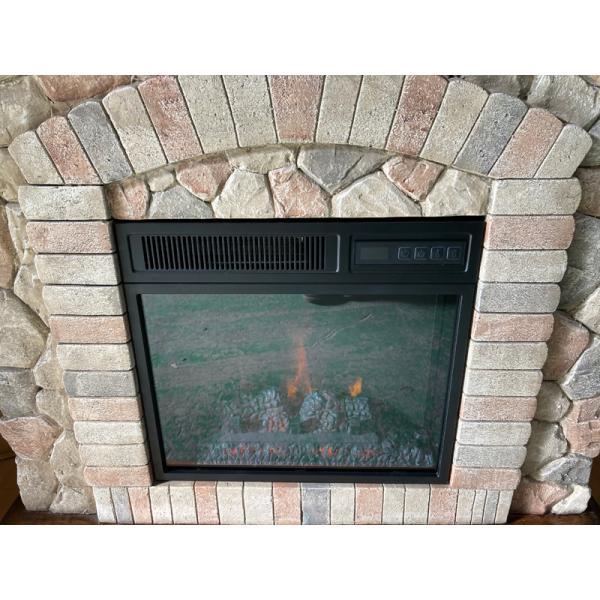 18インチ電気暖炉セット テクウェスタ ノーマルタイプ/ 送料無料/LLOYD GRANDE/ロイドグランデ/暖炉 温風ヒーター 暖炉型ヒーター リビング 暖房器具|oxford-c|04