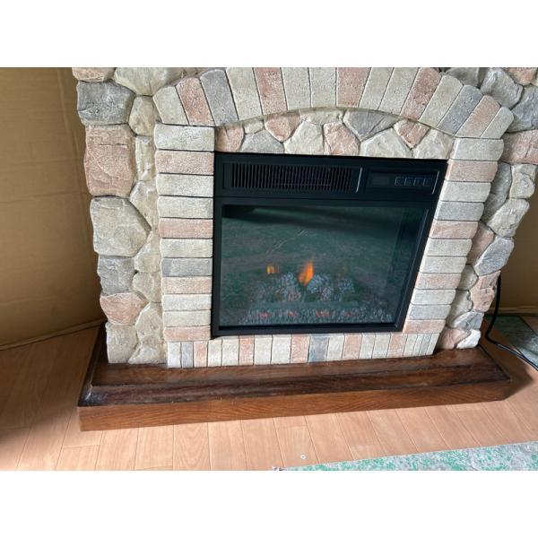 18インチ電気暖炉セット テクウェスタ ノーマルタイプ/ 送料無料/LLOYD GRANDE/ロイドグランデ/暖炉 温風ヒーター 暖炉型ヒーター リビング 暖房器具|oxford-c|06