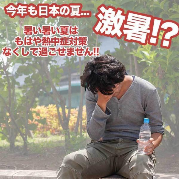 熱中症対策グッズ クールベスト アイスベスト (保冷剤を入れられるポケットが付いたインナーベスト)|oyakudachi-paxasian|02