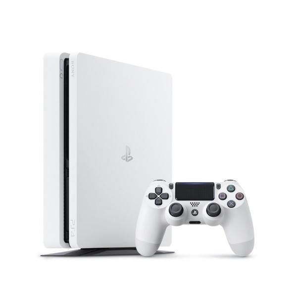 新品同様 SONY PlayStation4 グレイシャーホワイト 1TB CUH-2200BB02  送料無料(銀行振込、コンビニ払のみ)|oyama
