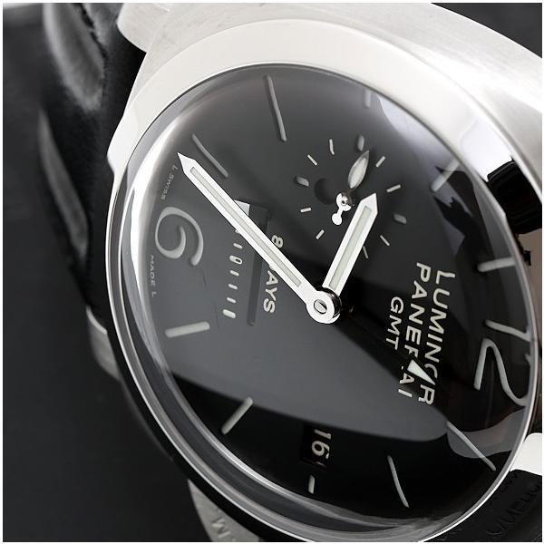 パネライ ルミノール PAM00233 1950 8デイズ GMT 手巻き 国内正規代理店購入品 メンズ 腕時計 美品