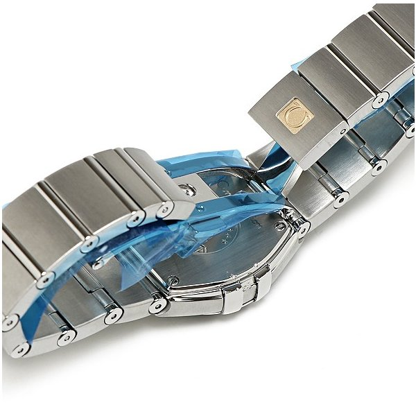 オメガ コンステレーション ブラッシュ ダイヤ12P レディース 123.10.24.60.51.001 腕時計 OMEGA 美品