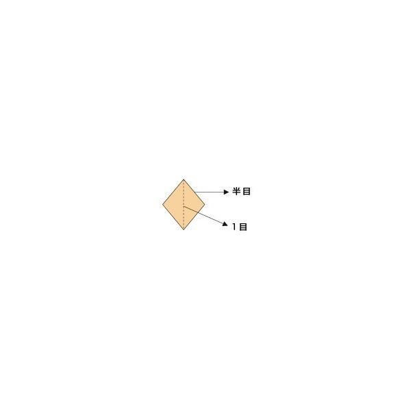 北山製網 銀立網 袋付きクサリ岩 18m×90cm 半目12mm [1065]