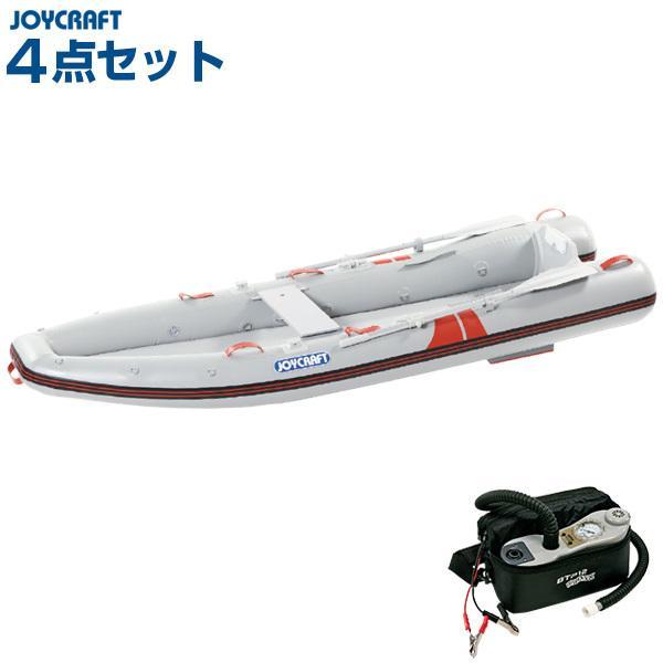 ジョイクラフト カヤック325(オール・腰掛板セット) 2人乗りゴムボート HSセット