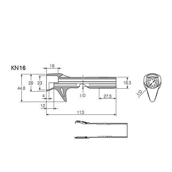 富士工業(Fuji工業) リールシート B-ACS-KN16(GB)-15.0