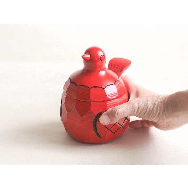 鳩の置物 シュガーポット 鳩の砂糖壺(シュガーポット) 大 すの・くらふと おしゃれなカフェのインテリアに|ozawa-shoten|04