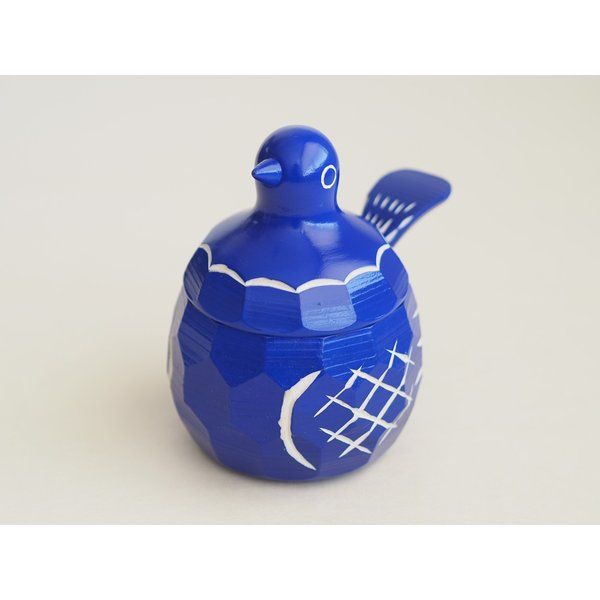 鳩の置物 シュガーポット 鳩の砂糖壺(シュガーポット) 大 すの・くらふと おしゃれなカフェのインテリアに|ozawa-shoten|10