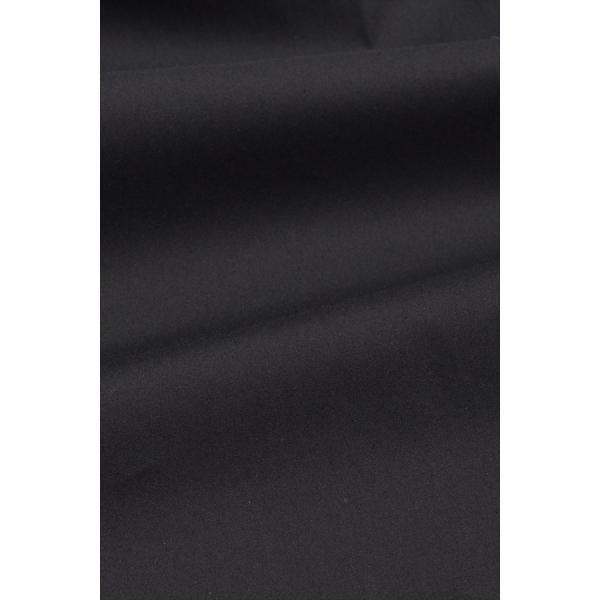 レディースシャツブラウス レディースワイシャツ レディース シャツ ビジネス ストレッチ 長袖 イージーケアブラック 黒 イタリアンカラー 日本製 トップス|ozie|10