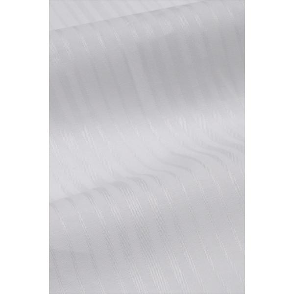 レディースシャツ ワイシャツ ブラウス ビジネス 長袖  白シャツ ダブルカフス ワイドカラーシャツ プレミアムコットン 日本製 トップス 3L 大きいサイズ|ozie|08