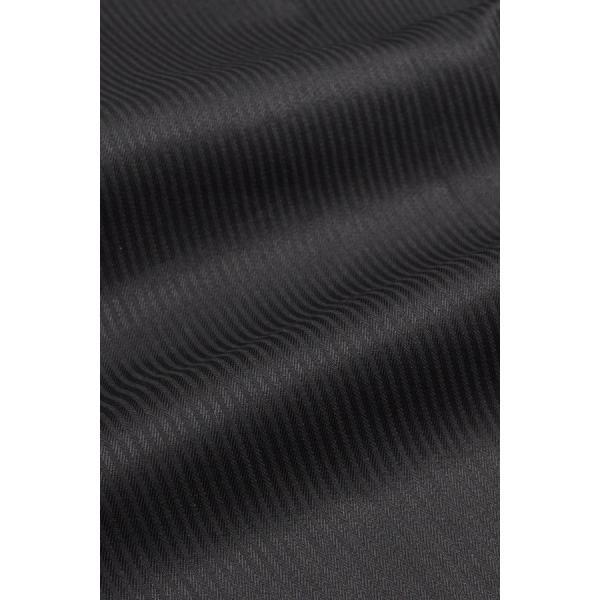 レディースシャツ ワイシャツ ブラウス ビジネス 長袖  黒シャツ ダブルカフス ワイドカラーシャツ 大きいサイズ おしゃれ 日本製 ozie 09