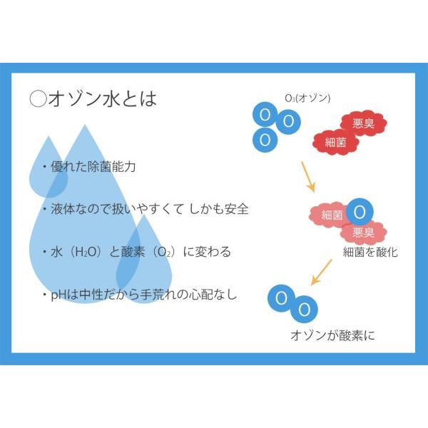 【デオシャワー】家庭用オゾン水生成器 オゾンウォーター POS-310(小型オゾン水生成器デオシャワー)|ozoneassocia|05