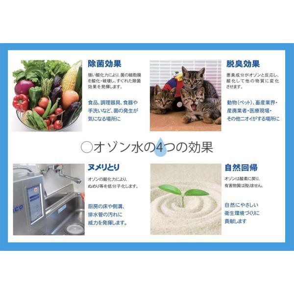 【デオシャワー】家庭用オゾン水生成器 オゾンウォーター POS-310(小型オゾン水生成器デオシャワー)|ozoneassocia|06