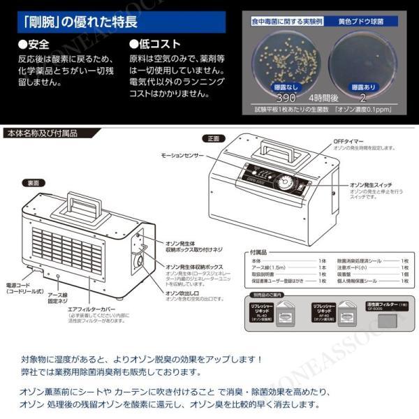 オゾン脱臭器 剛腕500S GWN-500Sホテル向けオゾン消臭器|ozoneassocia|06