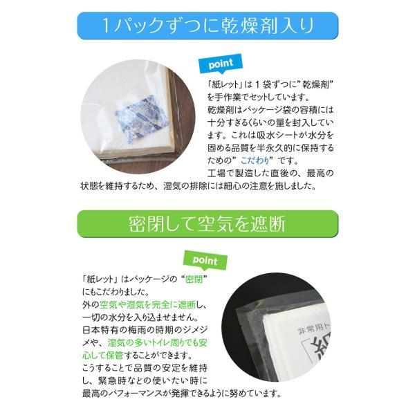 携帯トイレ 簡易トイレ 非常用トイレ 凝固剤 紙レット20枚 防災グッズ 防災用品 携帯用トイレ ozoneassocia 06
