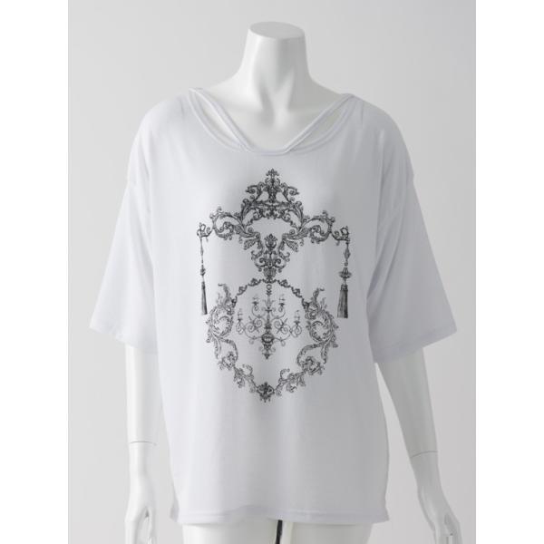 RozenプリントTシャツ ozzonjapan 02
