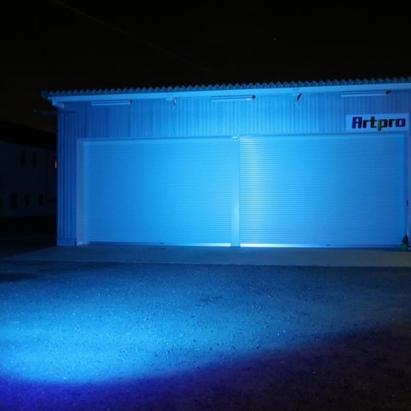 LED 集魚灯 イカ釣り 作業灯 72w イルミネーション 青 ライト 屋外 タチウオ 夜焚き アジ シラスウナギ 仕掛け 海 レジャー アウトドア カラーレンズ