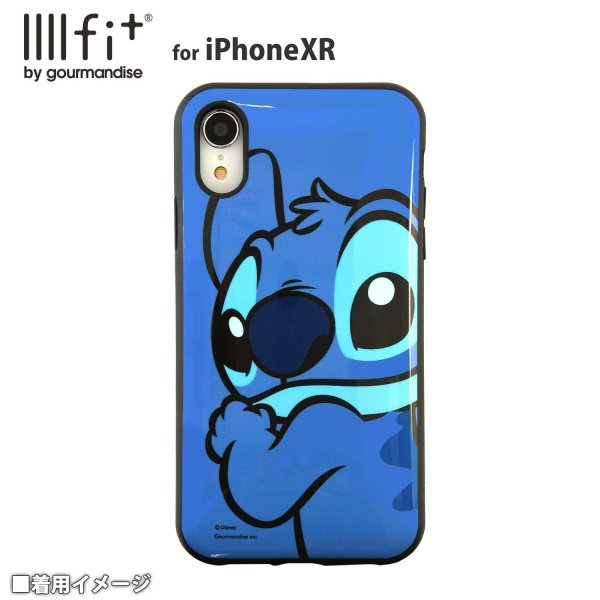スティッチ iPhone XR ケース 6.1インチ イーフィット IIIIfit ディスニー キャラクター グッズ アップ DN-593A|p-entamestore|02