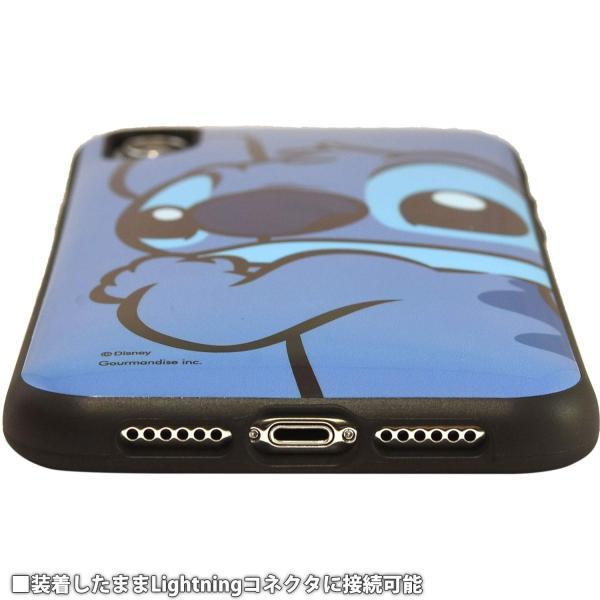 スティッチ iPhone XR ケース 6.1インチ イーフィット IIIIfit ディスニー キャラクター グッズ アップ DN-593A|p-entamestore|05