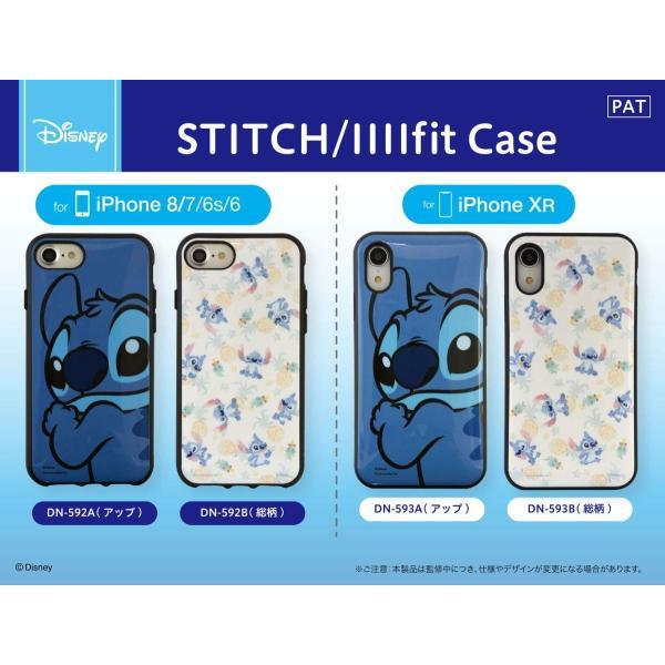 スティッチ iPhone XR ケース 6.1インチ イーフィット IIIIfit ディスニー キャラクター グッズ アップ DN-593A|p-entamestore|06