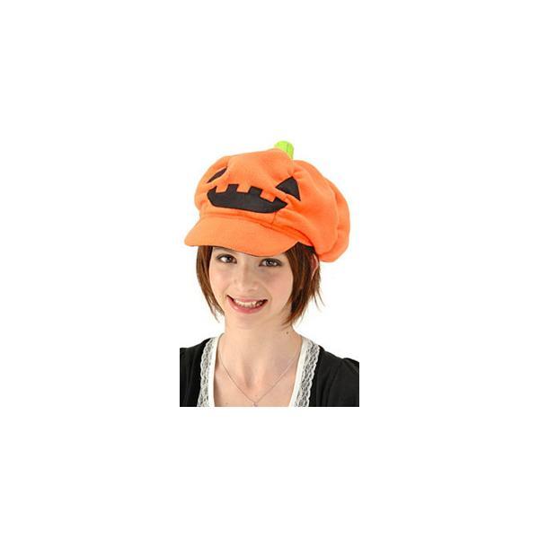 パンプキンキャップ ハロウィン衣装 かぼちゃ 帽子 大人 ハロウィーン 仮装 halloween(_865649) p-kaneko