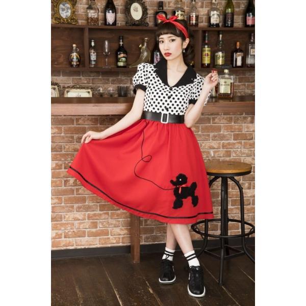 50年代 ファッション チェリー コスプレ ボンテージ コスチューム 衣装 ハロウィン 女性 衣装/ ヴィンテージ 50sロカビリー (880417) p-kaneko 11