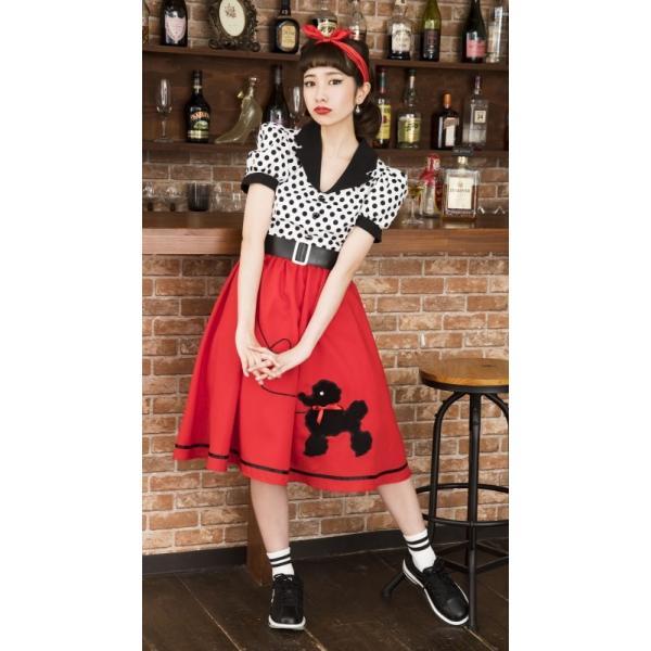 50年代 ファッション チェリー コスプレ ボンテージ コスチューム 衣装 ハロウィン 女性 衣装/ ヴィンテージ 50sロカビリー (880417) p-kaneko 12