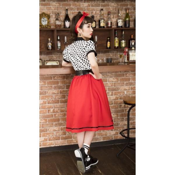 50年代 ファッション チェリー コスプレ ボンテージ コスチューム 衣装 ハロウィン 女性 衣装/ ヴィンテージ 50sロカビリー (880417) p-kaneko 13