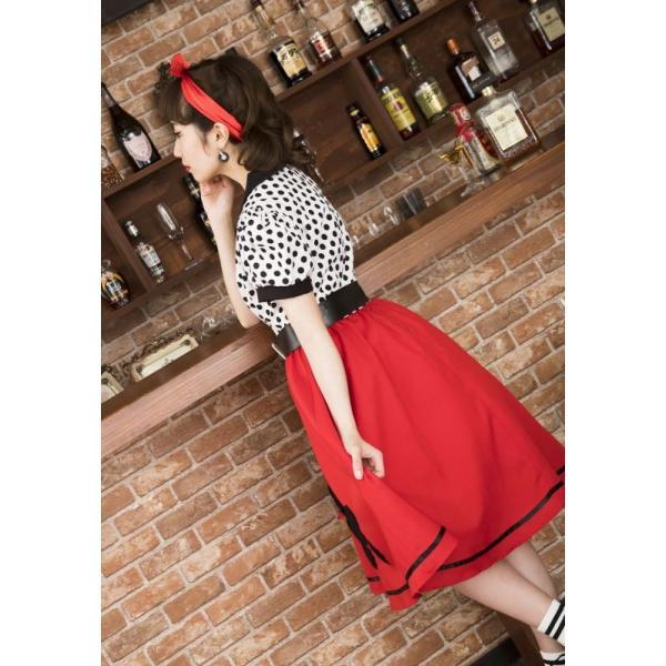 50年代 ファッション チェリー コスプレ ボンテージ コスチューム 衣装 ハロウィン 女性 衣装/ ヴィンテージ 50sロカビリー (880417) p-kaneko 14