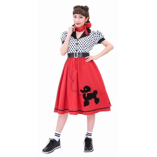 50年代 ファッション チェリー コスプレ ボンテージ コスチューム 衣装 ハロウィン 女性 衣装/ ヴィンテージ 50sロカビリー (880417) p-kaneko 04