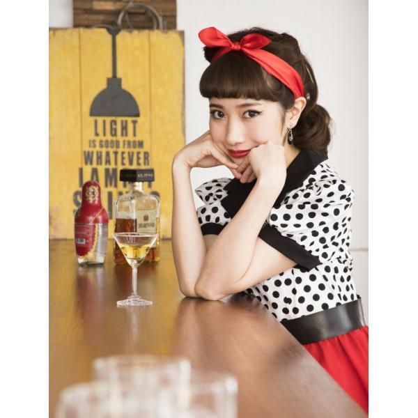 50年代 ファッション チェリー コスプレ ボンテージ コスチューム 衣装 ハロウィン 女性 衣装/ ヴィンテージ 50sロカビリー (880417) p-kaneko 10