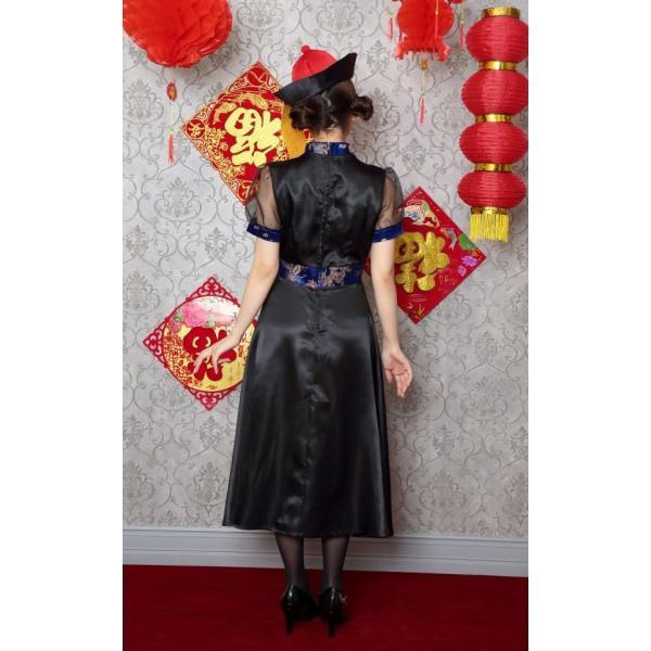 キョンシー コスプレ ロングスカート キョンシーガール 女性 衣装 ハロウィン コスプレ 女性用 大人 集団仮装/ エレガントキョンシー (_886372)|p-kaneko|10