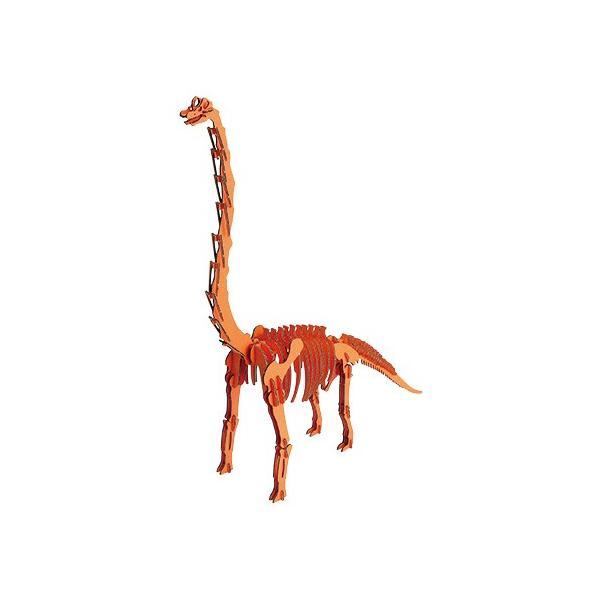 hacomo / BLACK LABEL ブラキオサウルス(オレンジ)   /恐竜 ダンボール工作  知育玩具 模型 夏休み 自由研究 (B-2526_012672)|p-kaneko|02