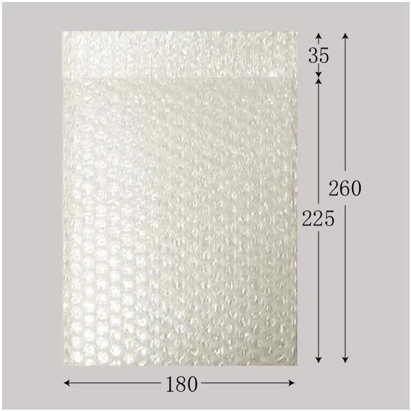 エアバッグ B18-22(10枚入り) クッション封筒 DVD(トールケース)用 (1袋10枚 巾180 高さ225 ベロ35) 10袋