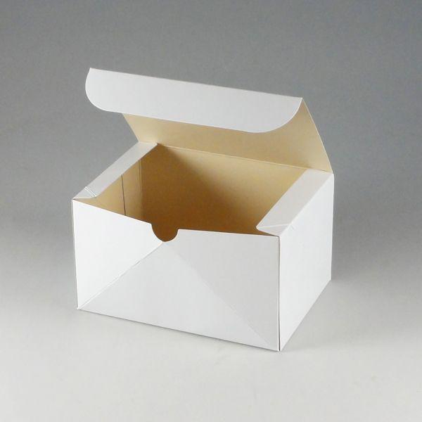 食品箱 ケーキ箱 洋生白A (縦105 横150 高さ85) 50枚