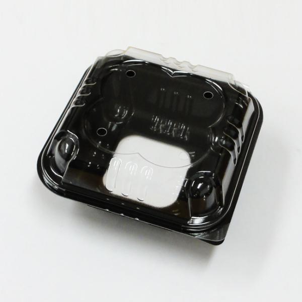 """""""地域で無料/直送"""" フルーツパック クロバー230 黒 窓付 3200枚/送料タイプ016"""