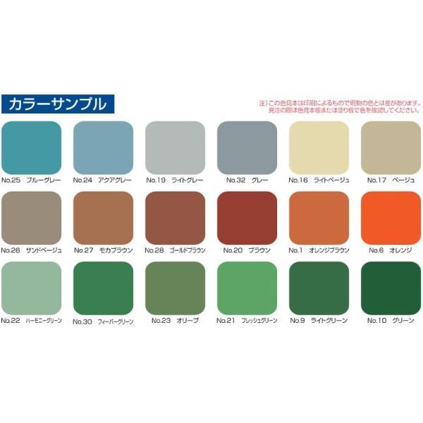 ボウジンテックス#5000U;No.19ライトグレー_17kgセット 水谷ペイント 塗料|p-recipe|02